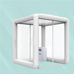 inflatable disinfectant tunnel