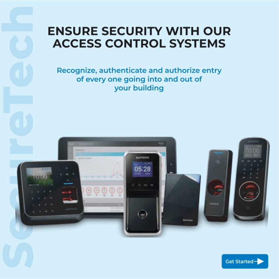 access control system prices
