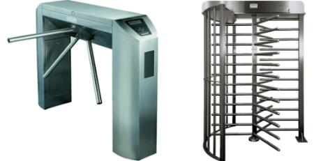 different types of turnstiles