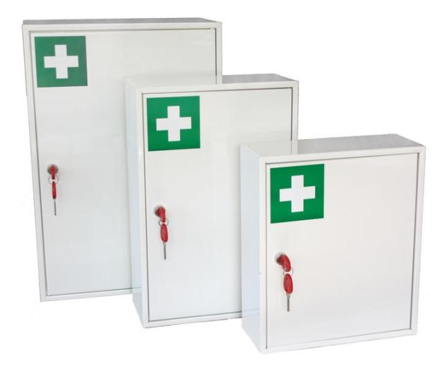 Medical cabinet KAFK02 and 03 with internal compartment