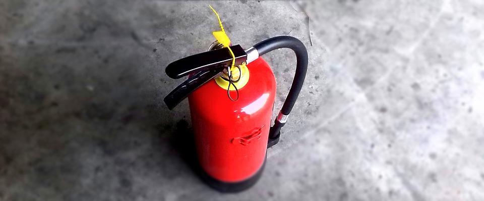 Extincteur: un dispositif efficace pour diminuer les risques d'incendie domestique