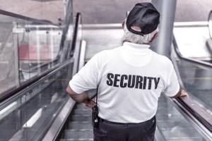 Un agent de sécurité