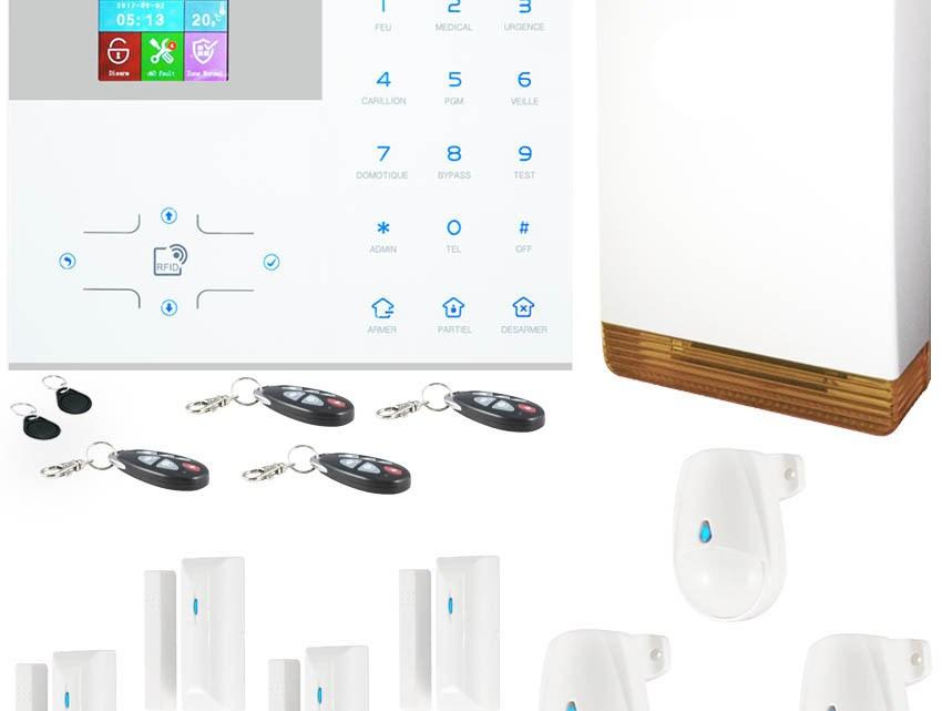 Alarme sans fil: la solution moderne pour protéger votre domicile
