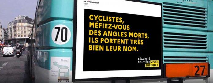 campagne sécurité routière vélo