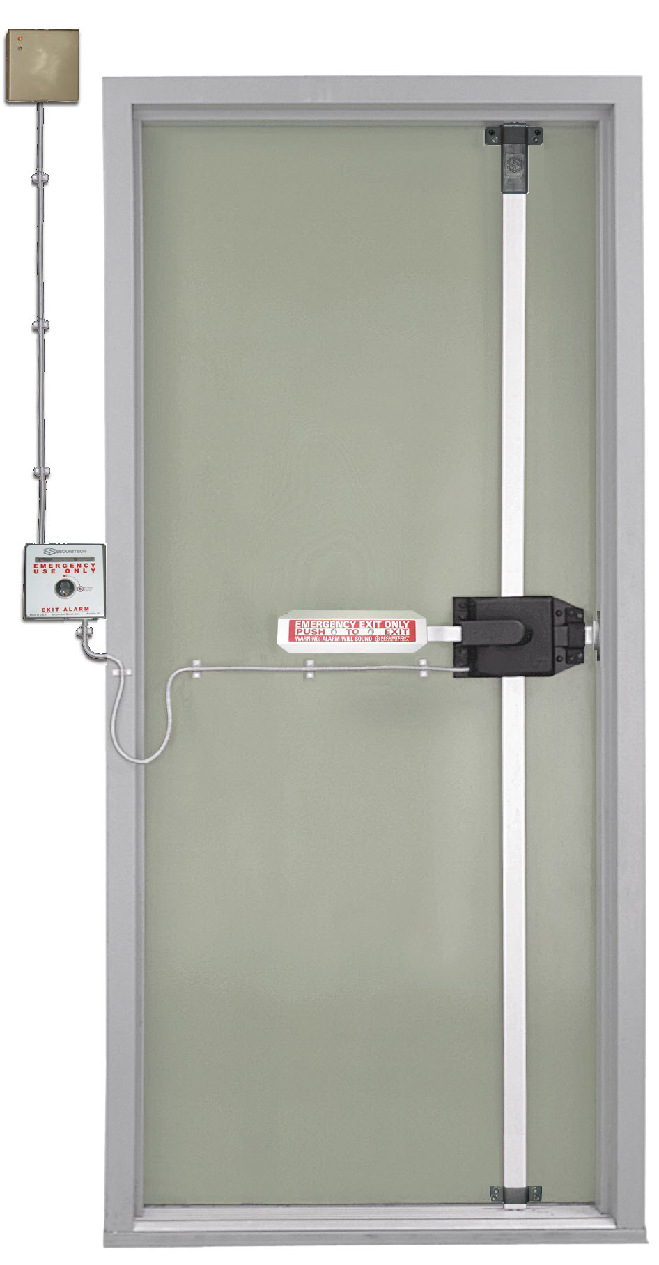 The Legal Way To Lock Emergency Exit Doors  sc 1 st  Securitech & Multi-Point Exit Police Lock 4900 | Securitech