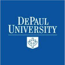 DePaul University square logo