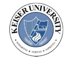 Keiser University round logo
