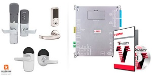 Allegion & Identiv Announced Integration of Schlage® LE, NDE, AD-400 Wireless Locks