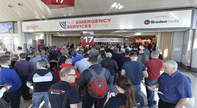 More visitors than ever at The Emergency Services Show