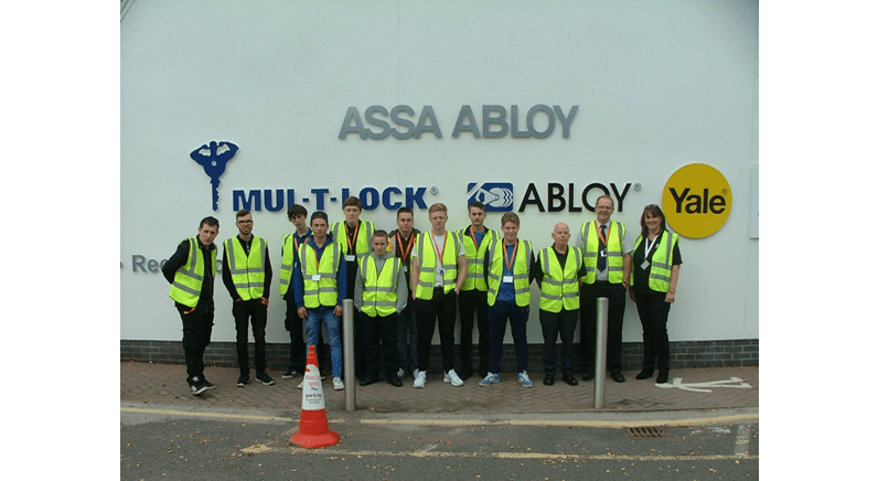 Assa Abloy addresses skills at MLA Apprentice Open Day