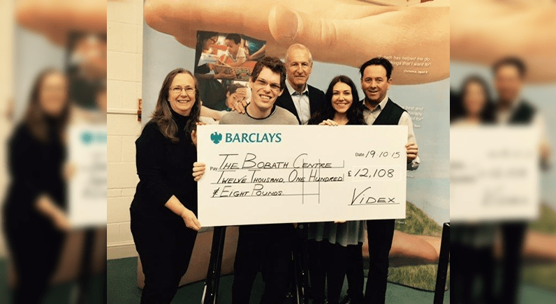 Videx raises over 12k for Cerebral Palsy Charity in Golf Day