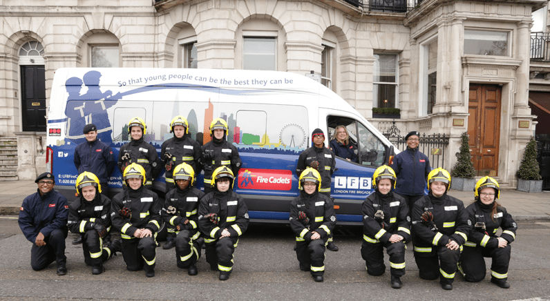 Securitas goes on parade with London Fire Brigade