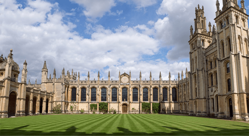 ACT access control has been installed at All Souls College