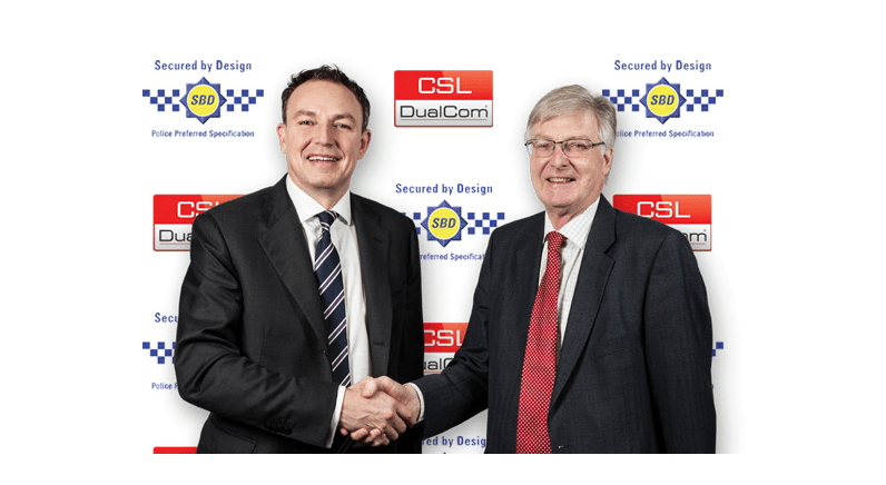 CSL DualCom signalling devices Secured by Design (SBD)