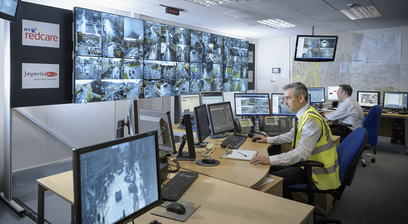 Video Wall from eyevis UK protects the people of Calderdale