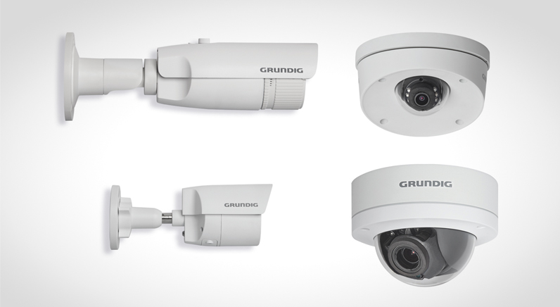 Grundig's new Connect IP, 3MP camera range sets industry standard