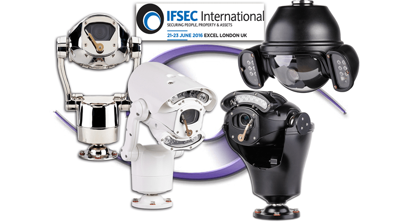 360 Vision Technology fields massive display of cameras at IFSEC