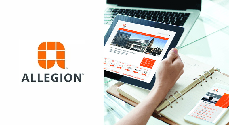 New Allegion website makes product specification easy