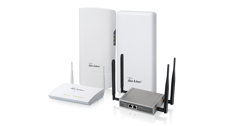 AirLive 4G LTE gateways delivers wireless connectivity