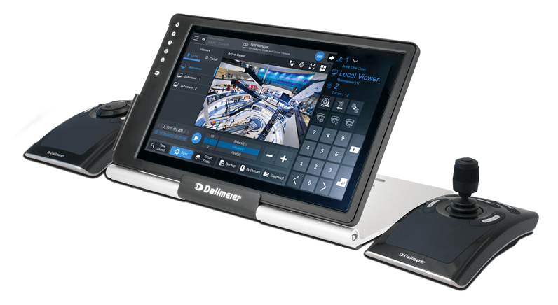 Dallmeier's Video Management Centre VMC-2 with touch screen