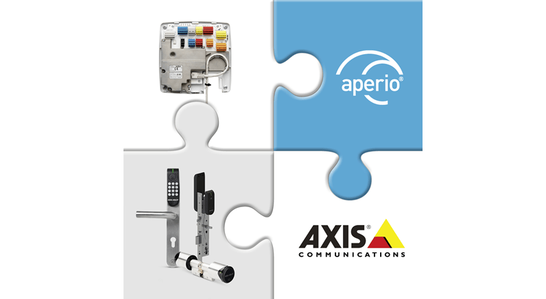 Aperio and Axis bring wireless access control to AXIS Entry Manager