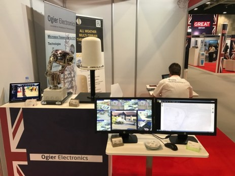 Ogier Electronics technology on show at INFRA Oman