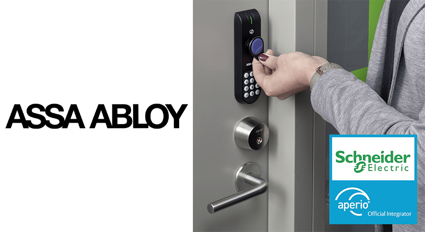 Schneider Electric's Esmi access control system gets a wireless upgrade with Aperio® locks