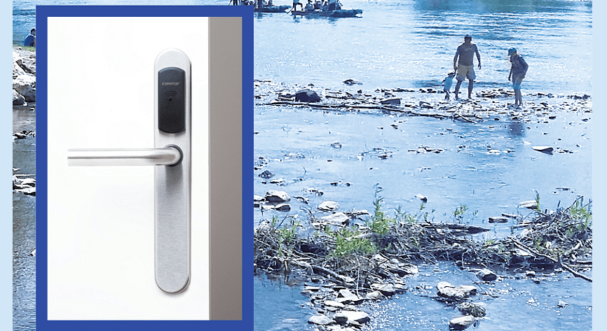 Tatra National Park visitors enjoy the scenery, while ASSA ABLOY SMARTair™ wireless access control looks after security