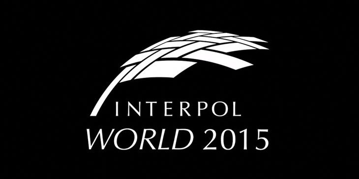 Interpol world logo