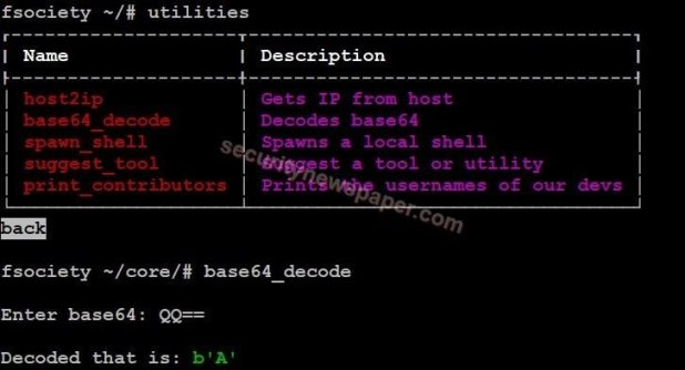 Fsociety - Utilities - Base64 Decode