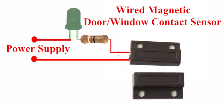 Security Switches No Magnetic