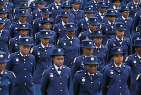 SA government wants to ban security guards from wearing blue
