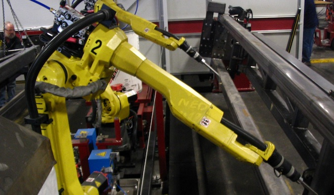 Robots vulnerable to cyberattacks