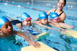 Children Swiming Lesson SEC International School