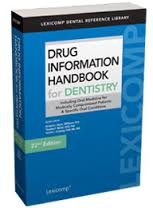 SES_Drug_information_handbook_dentist