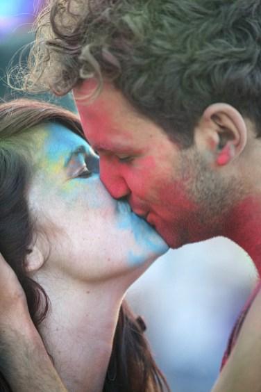 """""""Te amo, Azulzinha"""", ele diz. """"Também Te amo, meu vermelhinho"""", ela responde."""