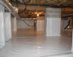crawl space encapsulation