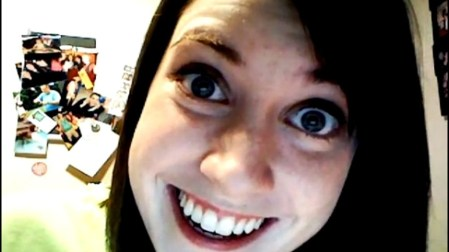 La fameuse 'Overly attached girlfriend, Troll Internet'