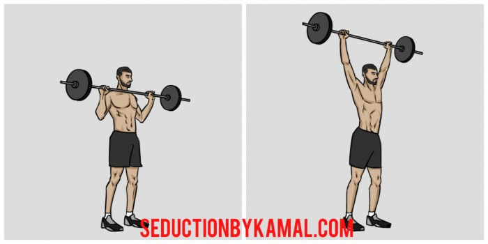push press exercice musculation