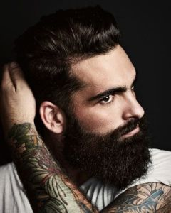 hygiene homme barbe