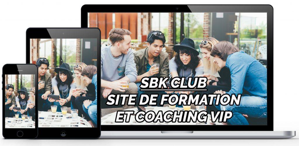 Rejoignez le club SBK pour elle