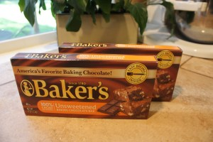 Everyone's Favorite Brownie's - Unsweetened Baker's Chocolate