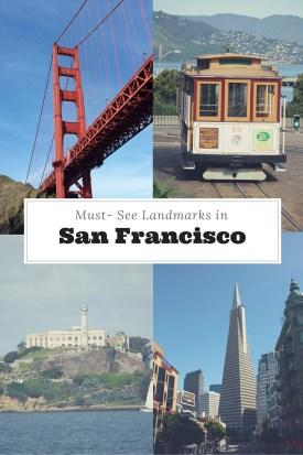 SF Landmarks Pinterest