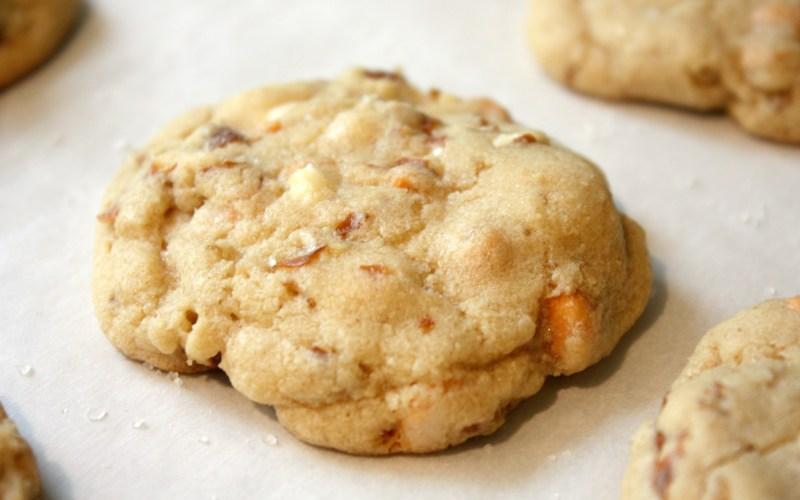Award-Winning Butterscotch, White Chocolate, Pretzel Cookies