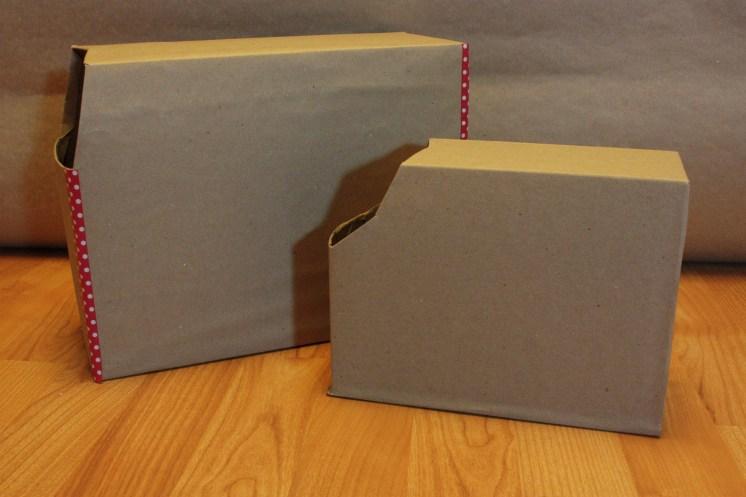 Upcycled Valentine's Day Mailbox