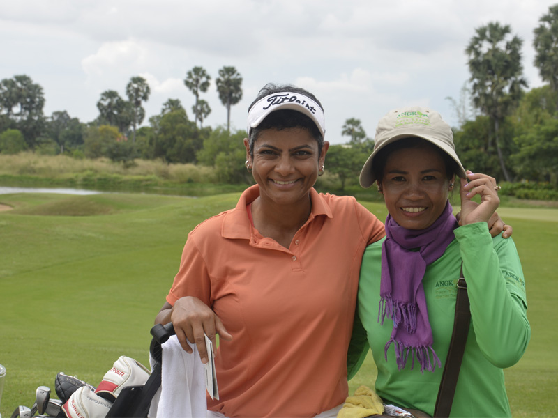 Ladies golf. Cambodia holidays for all.