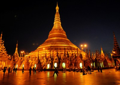 Yangon City Tour & The Shwedagon Pagoda