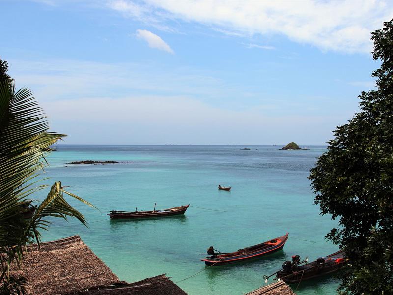 Myanmar island hopping tour