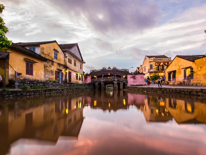 Visit charming Hoi An on your journey