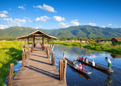 Inle Lake by Boat & Wine Tasting